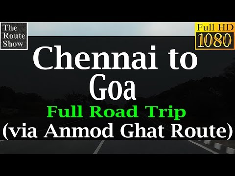 Drive to Goa from Chennai | Full Road Trip | Full HD Video