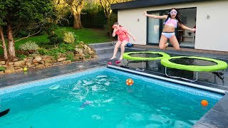 YOU WON'T DO IT!! SWIMMING POOL CHALLENGE  (Day 3)