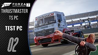 """Forza 7 - TEST Sur PC """"GAMEPLAY fr"""" Thrustmaster TS PC Racer"""