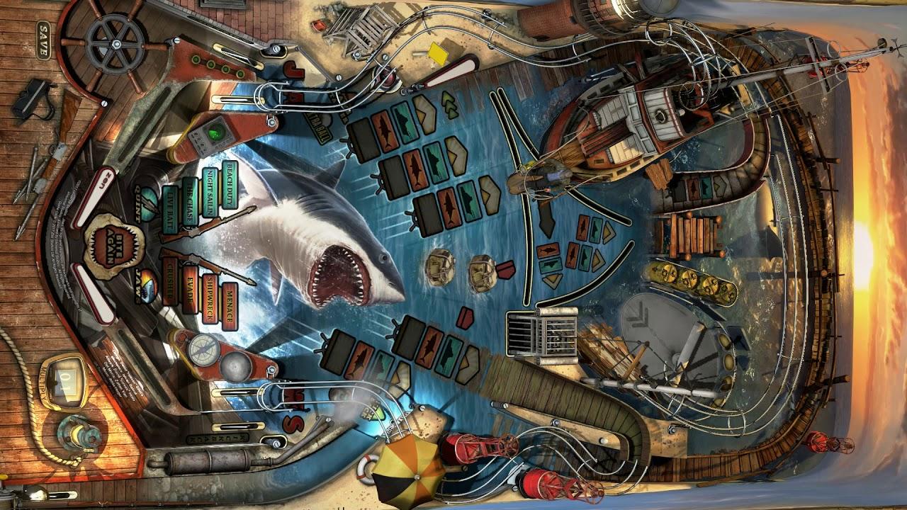 Playfield Jaws (Les dents de la mer) - Pinball FX3