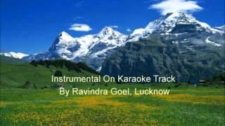 Zindagi Mil Ke Bitayenge  Satte Pe Satta  Instrumental on Karaoke Track, By Ravindra Goel, Lucknow