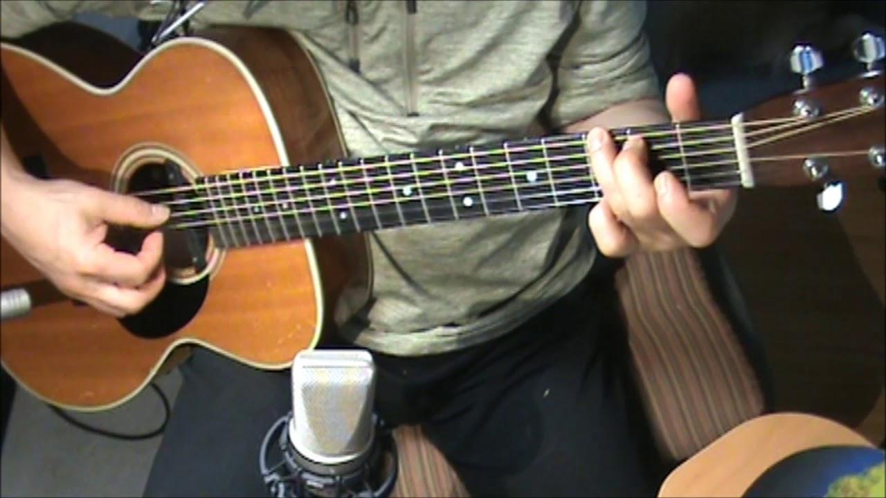 Gone Gone Gone Phillip Phillips Fingerstyle Chords Cover Youtube