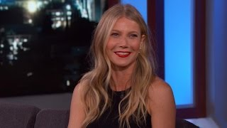 More from entertainment tonight: http://bit.ly/1xtqtvw goop creator gwyneth paltrow opened up about her lifestyle brand on monday's 'jimmy kimmel live.'