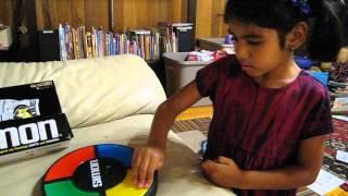 6-year-old Girl Rocks Simon Memory Game