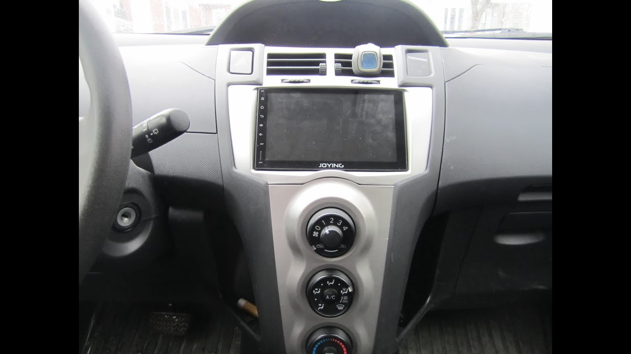 Joying Android Stereo In A Toyota Yaris 2009 Youtube