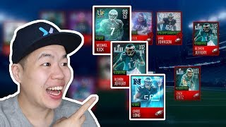 Madden Mobile 18 All Eagles Themed Lineup