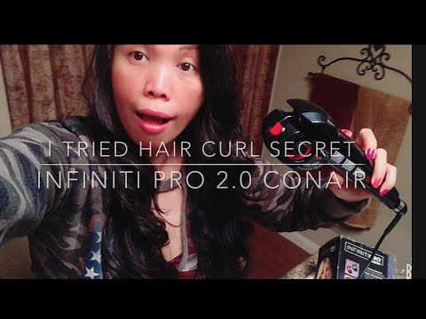 Conair Infiniti Pro Curl Secret Review and First Impression
