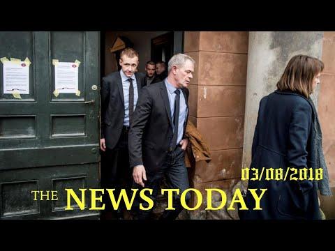 Danish Submarine Entrepreneur Denies Journalist's Murder As Trial Starts | News Today | 03/08/2...