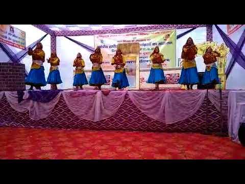Zee Litera Valley School Bhiwani Group Dance In Zonal Level Youtube