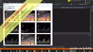 Visual studio tutorial image processing rgb to grayscale