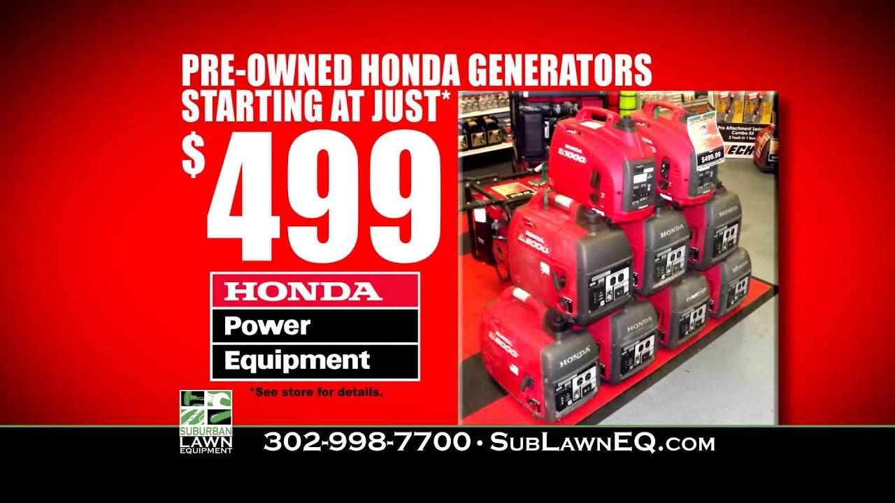 Honda generators dealers in delaware suburban lawn for Honda dealer wilmington de