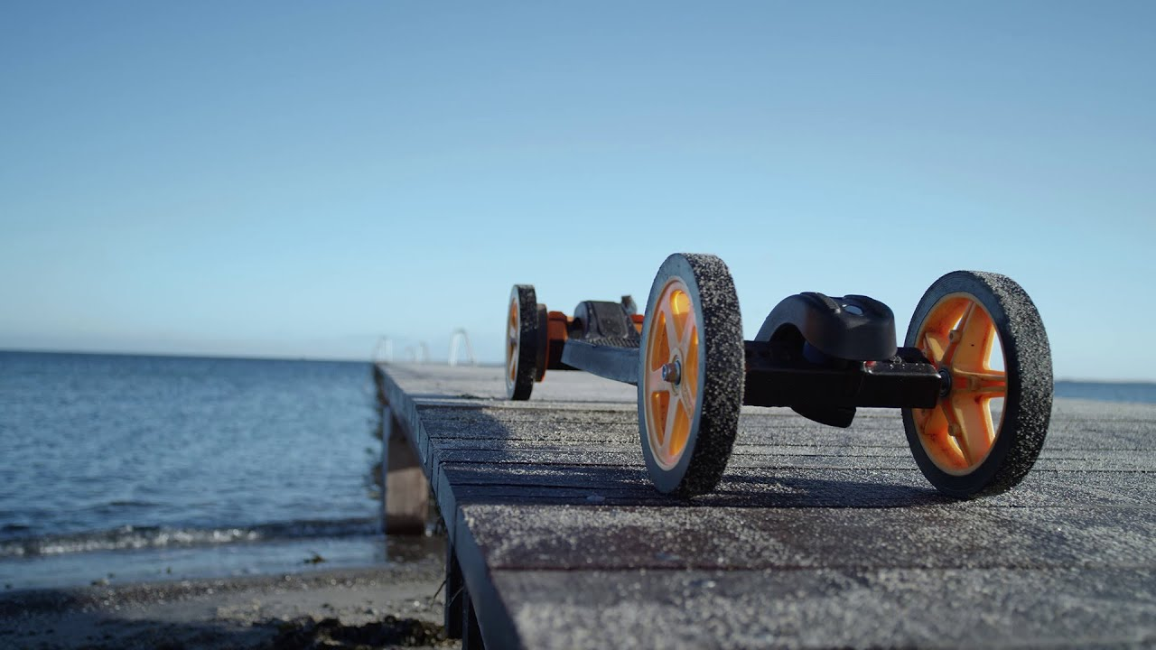 3D Printed Electric Skateboards from Faraday Motion  Ultimaker: 3D Printing Story  YouTube