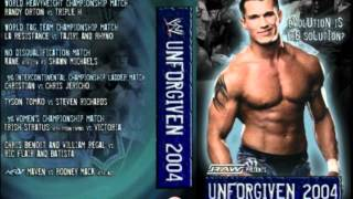 WWE Unforgiven 2004 Theme Song Full+HD