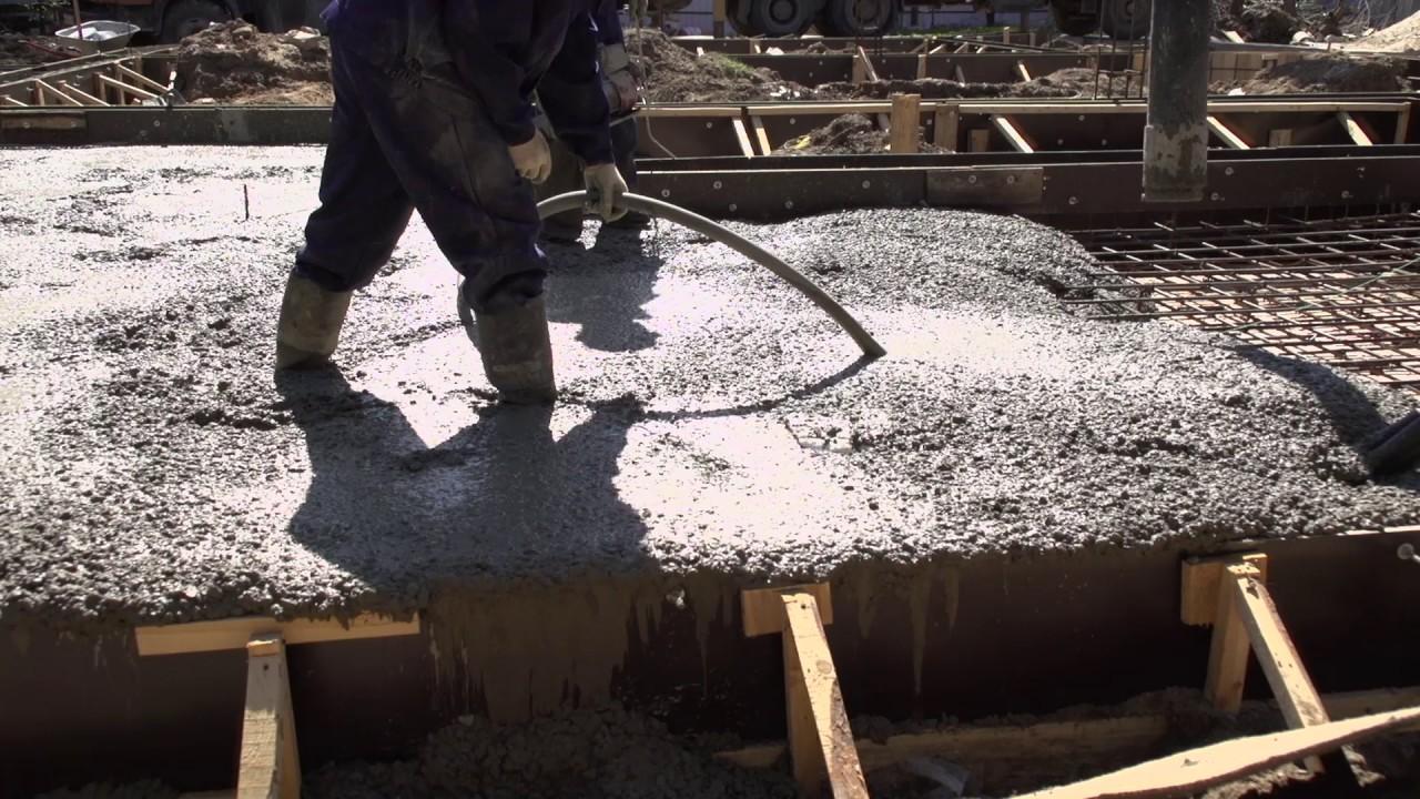 Вибрирование бетона чем опилок бетон