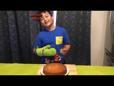 Nick Yummy Kitchen Funfetti Easter Cake Recipes Kids Fun Baking Time