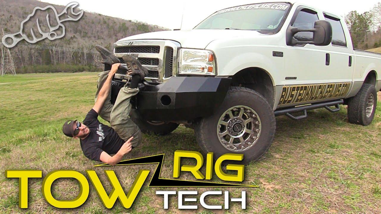 Iron Cross Bumper Install - Tow Rig Tech Episode 4