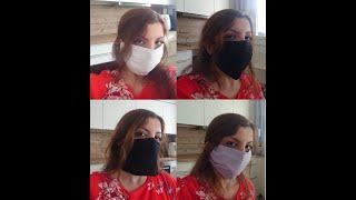 Aus alten T-Shirts und Hosen Masken nähen - 4 Varianten - Mundschutz und Gesichtsmaske selber machen