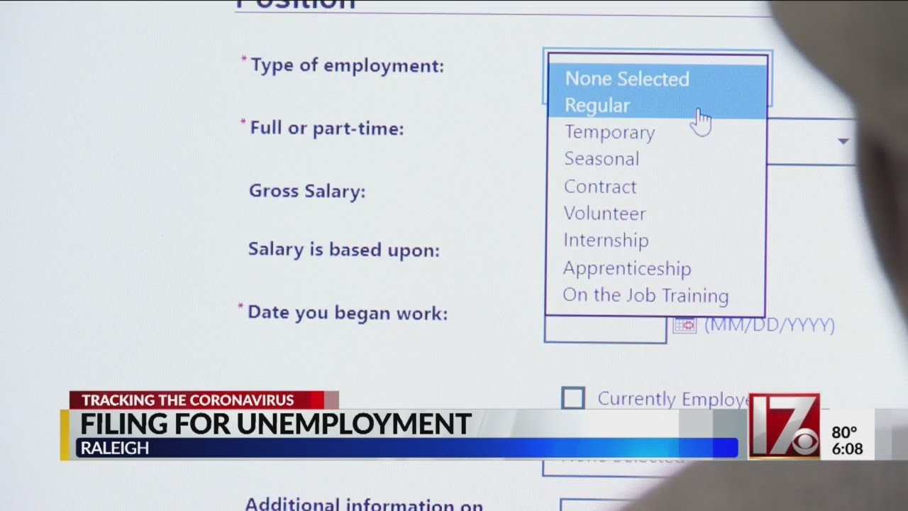 Laid off NC workers face challenges filing for unemployment amid ...