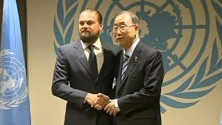 leonardo dicaprio appointed as un messenger of peace no comment
