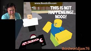 Markiplier Cries Over a Sad Roblox Story