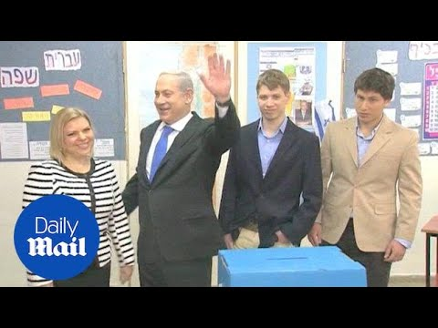 Yair Netanyahu at various events with family members - Daily Mail