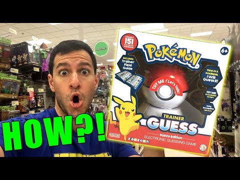 Download Youtube: This Pokemon Game Toy READS MINDS...