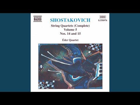 String Quartet No 15 in EFlat Minor, Op 144: III Intermezzo: Adagio