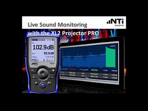 NTi Audio Webinar - Live Event Monitoring with the XL2 Projector PRO
