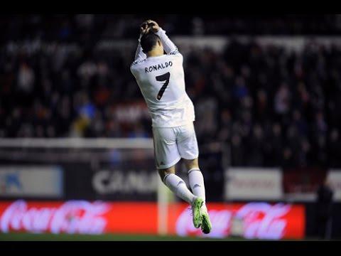 Cristiano Ronaldo Special Celebration Jump Comic