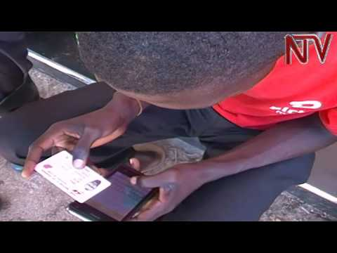 Busia residents queue up to beat sim card verification exercise