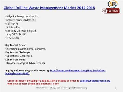 Global Drilling Waste Management Market 2014 2018