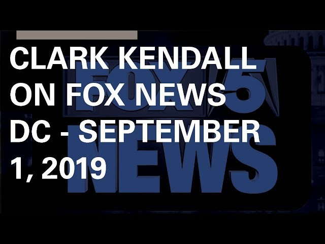 Clark Kendall on Fox 5 DC Sunday Morning News