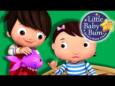 12345 Once I Caught A Fish Alive | Part 2 | Nursery Rhymes | By LittleBabyBum!