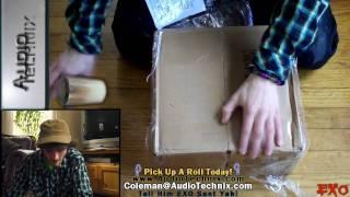 Audio Technix Sound Deadener Un-Boxing - The Best Deal On The Internet! Stop Your Rattling Car Audio