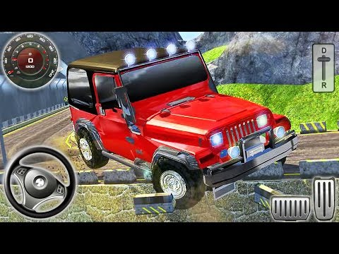 Offroad 4x4 Jeep Drive Hill Climb - SUV Mountain Driving Simulator - Android GamePlay