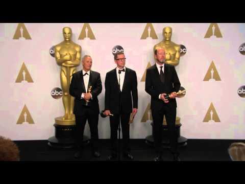 Mad Max: Fury Road: Gregg Rudloff & Chris Jenkins Oscars Backstage Interview (2016)