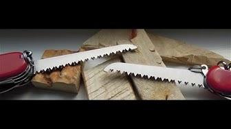 Cái kết kinh ngạc khi test khả năng cưa gỗ của Dao đa năng Victorinox