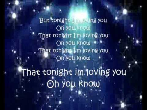Tonight - Enrique Iglesias LYRICS