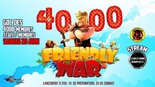 LA TDC FÊTE LES 4000 MEMBRES AVEC CETTE FW | CLASH OF CLANS