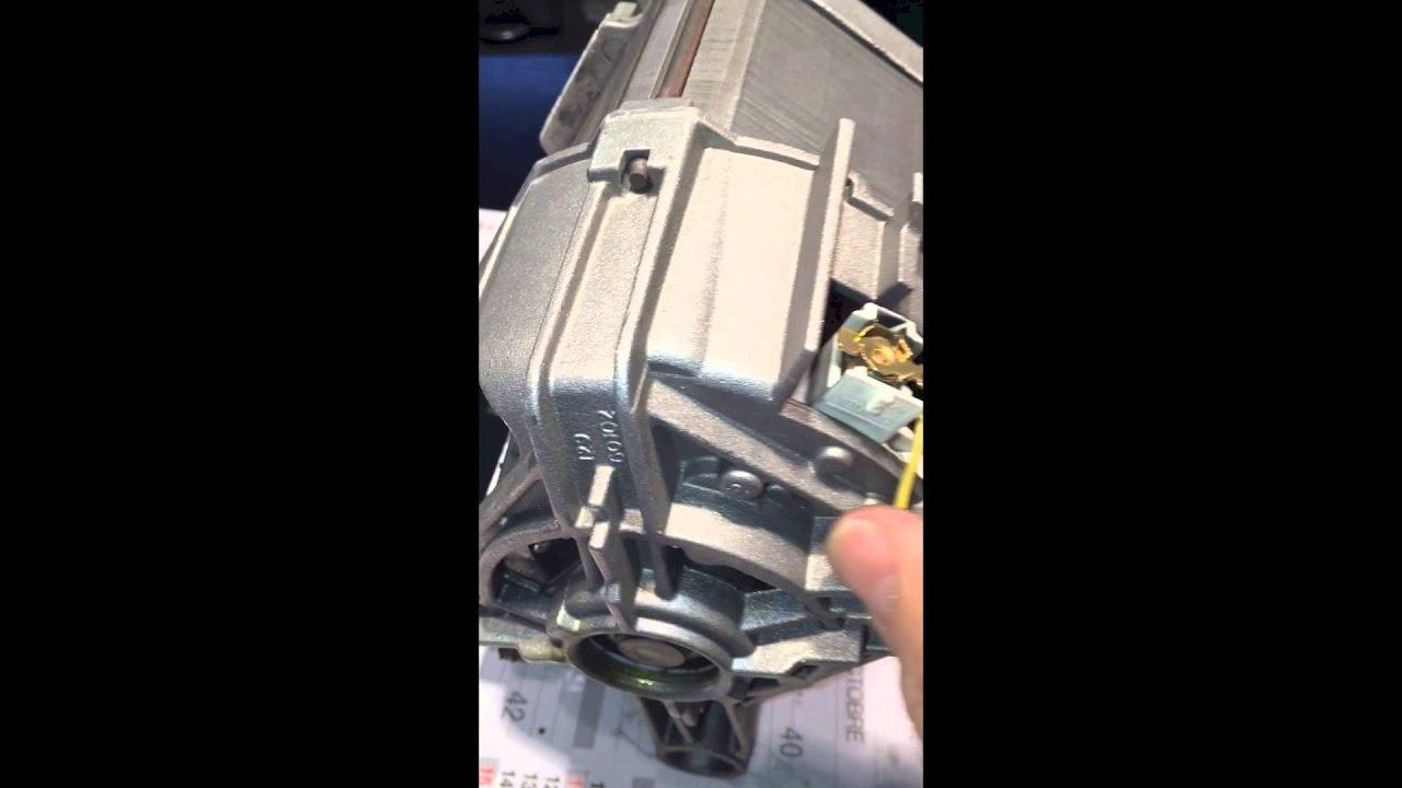 Changer les charbons du moteur de votre machine a laver youtube - Vasque sur machine a laver ...