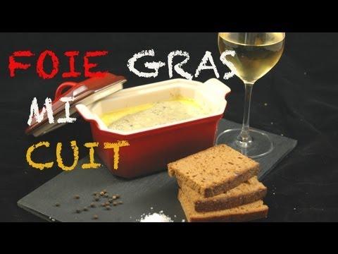 foie gras mi cuit maison youtube. Black Bedroom Furniture Sets. Home Design Ideas