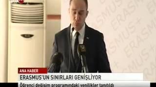 Erasmus Programı Açılış Toplantısı SkyTURK 19 12 2013