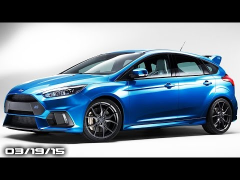 Ford Focus RS Horsepower, New Jaguar XF Teased, McLaren 570S - Fast Lane Daily