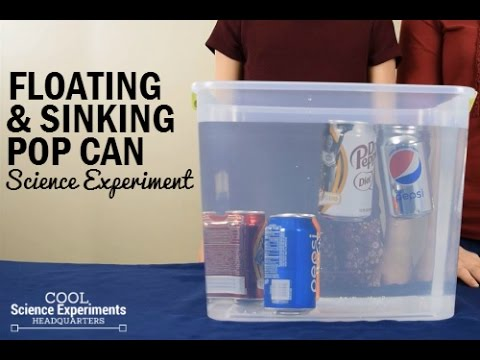 Floating & Sinking Pop Cans