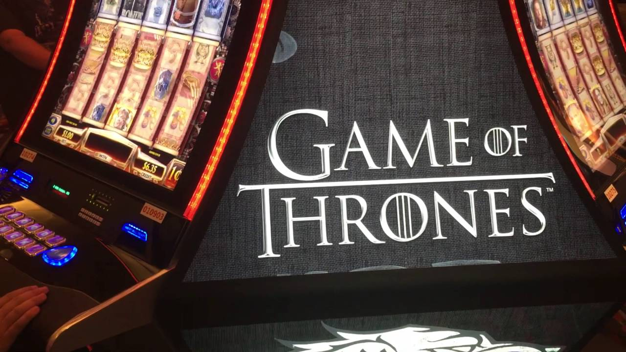 Game Of Thrones Slot Machine Vegas