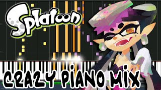 Crazy Piano Mix! TOKIMEKI☆BOMB RUSH! (Splatoon) Callie Solo Song