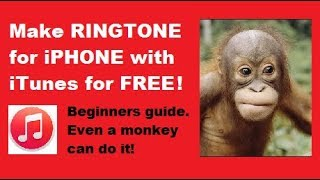 How to Make Ringtone for iPhone 5,6,7,8 with iTunes - Windows or Mac - Easy!