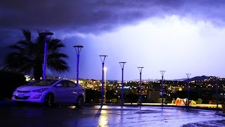 بديع صنع الله في سماء الباحة وسحابة البرد الهائلة عواصف تتلوها عواصف