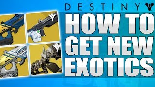 Destiny: How To Get NEW Taken King Exotics - No Time To Explain / Sleeper Simulant & More