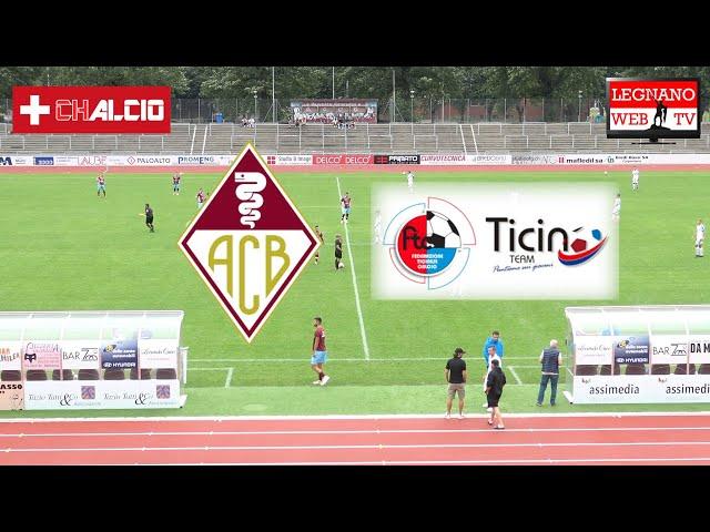 ACB Bellinzona Calcio vs Team Ticino U18 1° tempo